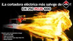 El pack de lanzamiento de la RUBI DX-250 PLUS 1000 + cable + disco de diamante + bloque limpiador