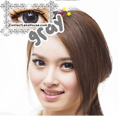 KiraKira 16mm - Gray color contact lens. | Shop @ ContactLensHouse.com