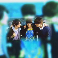 "[short clip] https://twitter.com/orangelove46/status/701692634394263552    Taishi Nakagawa, Yudai Chiba, Ryo Yoshizawa, Kento Yamazaki, ep1, J drama, sports comedy, ""Suikyu Yankees (Water Polo Yankees)"", 2014"