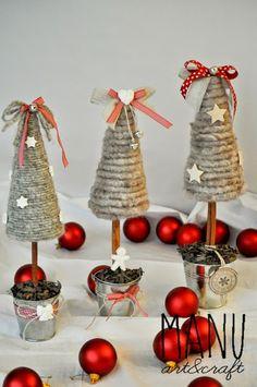 Country Whisper: il mio Natale handmade...alberelli prima parte