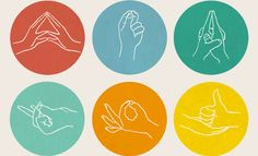 Bring awareness back into your body and focus with simple, effective Mudras. Add Hand Relief to heighten the experience.