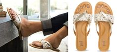 I love these sandals! They are REALLY expensive-I wonder if I can make them myself...it looks moderately simple.