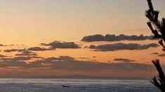 天気が回復した海。礒船が通り過ぎていく。ところで昨日のアクセス数が1000を超えていた、なんで? | 奥尻NET通信blog Celestial, Sunset, Outdoor, Outdoors, Sunsets, Outdoor Games, The Great Outdoors, The Sunset