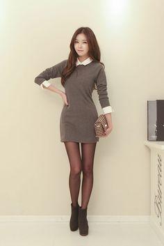 Collar Shirt Dress