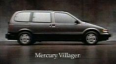 1992 - Commercial - Introducing the NEW Mercury Villager