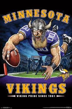 Minnesota Vikings Purse Minnesota vikings, Minnesota
