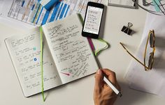 Write Down Your Plans on Paper and Be Reminded of Them Digitally with Evernote Planner by Moleskine Adhd And Autism, Add Adhd, Moleskine Evernote, Moleskine Notebook, Diy Notebook, Adhd Signs, Stay On Track, Blog Planner, 2015 Planner