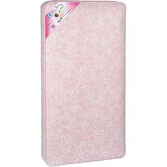Sealy Ortho Rest 150-Coil Crib Mattress, Pink Paisley $49.00 @Walmart