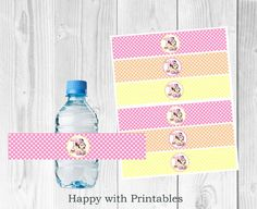 Minnie Mouse 1st bottle wrapper Minnie by HappywithPrintables