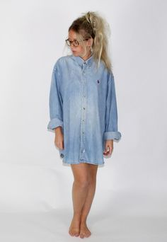 Vintage Denim Ralph Lauren Shirt | Lick | ASOS Marketplace