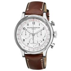 Amazon.com: Baume & Mercier Men's 10000 Capeland Silver Chronograph Dial Watch: Baume et Mercier: Watches $2991