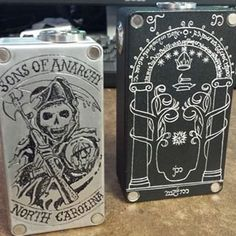 Vape - Vaping - Vaper - Dampfen - Dampfe - e-zigarette - ecig - mechanical Box Mods - Cloud Chaser - > Sons Of Anarchy <