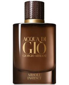 Giorgio Armani Acqua di Gio Absolu Instinct Eau de Parfum - N/A oz. Giorgio Armani Water Absolutes Gio Instinct Eau de Parfum - N / A Unze. Giorgio Armani Beauty, Armani Men, Emporio Armani, Perfume Diesel, Best Perfume, Perfume Bottles, Parfum Giorgio Armani, Men Accessories, Make Up