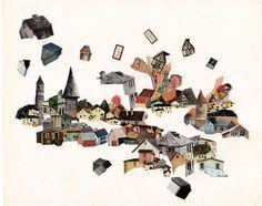 'Salem Became Jerusalem' collage by Los Angeles-based artist Ashlie Chavez