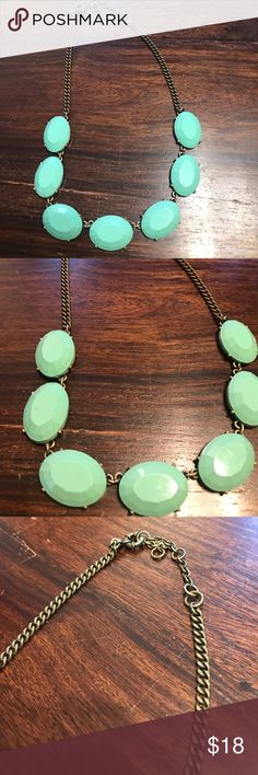 Turquoise necklace So cute! J. Crew Jewelry Necklaces