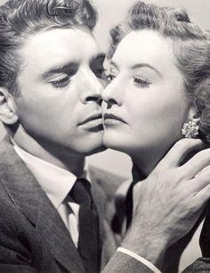 Barbara Stanwyck & Burt Lancaster in Sorry, Wrong Number (1948)