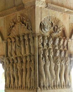 La Ascensión y Pentecostés, Santo Domingo de Silos, siglos XI-XII. Spain. Carmen Pinedo Herrero