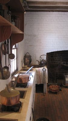 Thomas Jefferson's Monticello Kitchen, Charlottesville, Virginia, USA