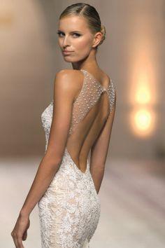 vestido de noiva Clarisa de Atelier Pronovias 2015 - costas #casarcomgosto