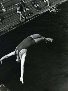 The Dive, 1934, photographer Alexander Rodchenko