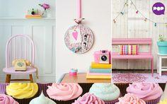 Aposte na decoração em candy colors