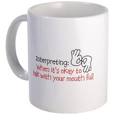 So I want this mug, and then I want another dachshund. Dachshund, Coast Guard Wife, Ted, Sign Language Interpreter, Navy Mom, Deaf Culture, American Sign Language, Thing 1, Postcard Design