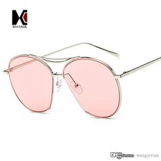 c484086b3bf New Arrival Women Over Size Flat Tint Lens Sunglasses Brand Designer Fashion  Men Semi Rimless Sun Glasses UV400 Bolle Sunglasses Electric Sunglasses From  ...