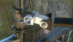 """prolongador de lanza para adaptar la lanza de arrastre de 26"""" para bicicletas de 27,5"""" o de 29"""""""