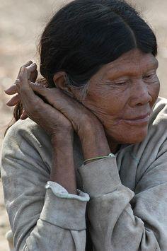 Women Photograph - Ayoreo Indigenous Woman. Department Of Sanrta Cruz. Republic Of Bolivia. by Eric Bauer