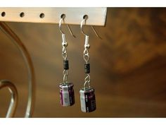 Earrings from electronic components