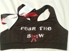 Sports bra & bow