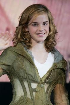 Emma Watson at 'Harry Potter and the Prisoner of Azkaban' Tokyo Press Conference, 2004.