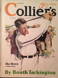 Collier's Magazine June 1932 Golf Cover