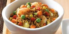 Simple and delicious fried rice done in minutes so you can sit back and relax. Courtesy of VH Sauces. Fried Rice Recipe Food Network, Food Network Recipes, Rice Recipes, Cooking Recipes, Healthy Recipes, Vh Sauces, Shrimp Fried Rice, Food Network Canada, Rice Dishes