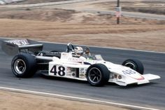 Bobby Unser - Eagle 74 [7405?] Offenhauser 159 ci turbo (champcar) - Oscar Olson - Riverside Grand Prix - 1974 USAC/SCCA F5000 Championship, round 7