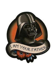 Star Wars Darth Vader Tattoo Sticker | Hot Topic