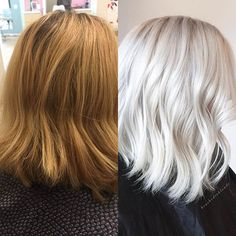 Bob haircuts are among the most popular and favorite cuts for women. Today we have collected Blonde Bob Hair Ideas in 2019 for your perfect and lovely look White Blonde Bob, Blonde Curly Bob, Dark Blonde Bobs, Blonde Bob With Bangs, Cute Blonde Hair, Platinum Blonde Bobs, Blonde Bob Haircut, Graduated Bob Hairstyles, Angled Bob Hairstyles