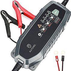 Batteria caricabatteria da auto, Autoxel 3.8 a 6 V/12 V 8 modalità Intelligent Automotive carica batterie/Mantenitore per veicoli con CC/CV ricambio per LiFEPO4 & batteria al piombo acido di umidità, MF, VRLA AGM e gel: Amazon.it: Auto e Moto