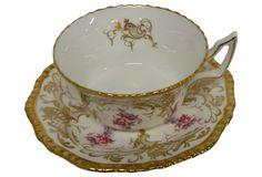 Coalport Gold Gilt Teacup