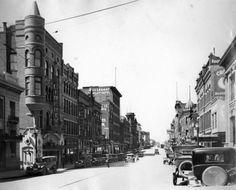 Broadway Street Butte, MT 1935