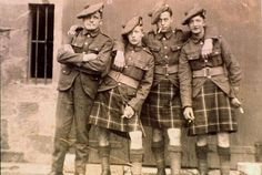 scottish  highlanders  world war 2 | Found on xmarksthescot.com