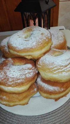 ez vált be a legjobban Food Gallery, Hungarian Recipes, Winter Food, Donuts, Pancakes, French Toast, Muffin, Food And Drink, Sweets