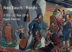 Der Fischzug, Oil on canvas 250 x 300 cm 2016  RONDO Neo Rauch展 Painting 2016.10.05 - 2016.11.12  #관람시간  10:00am-06:00pm 화-토 David Zwirner    Tief im