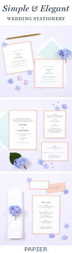 Discover the perfect wedding stationery for your special day