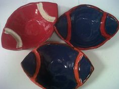 ust in time for tailgating this weekend! Whether you are an Auburn fan or Alabama fan or Vestavia Hills (Ole Miss) fan - - Great dip dishes - made for us - by our friends at Etta B Pottery!