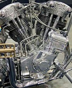 Beautiful Harley Engine