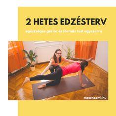 Otthoni Pilates videók edzéstervbe rendezve - 10, 20, 30 és 60 perces videók - alakformálás és mozgás a derékfájás ellen.