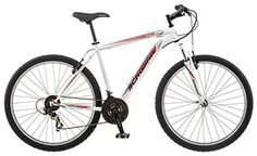 [special_offer]What are the features of Schwinn High Timber Men's 18 Mountain Bike, WhiteNew Schwinn mountain frame with Schwinn suspension fork Mountain Bikes For Sale, Mens Mountain Bike, Mountain Bike Reviews, Best Mountain Bikes, Mountain Biking, Bmx Bikes, Cool Bikes, Schwinn Bikes, Bike Deals