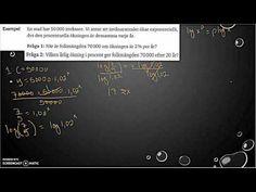 Matematik 5000 Ma - Kapitel 2 - Exponential- och potensekvationer - T. Hat, Youtube, Gera, Chip Hat, Hats, Youtubers, Youtube Movies, Sorting Hat