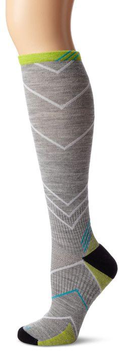 Sockwell Women's Incline Compression Socks, Light Grey, Medium/Large